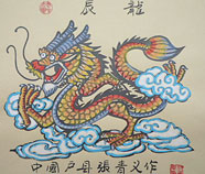 Chinese zodiac paintings