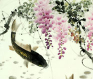 Chinese fish paintings