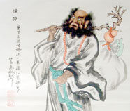 Chinese damo paintings