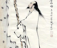 Chinese gao shi paintings