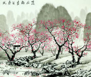 Chinese tree paintings
