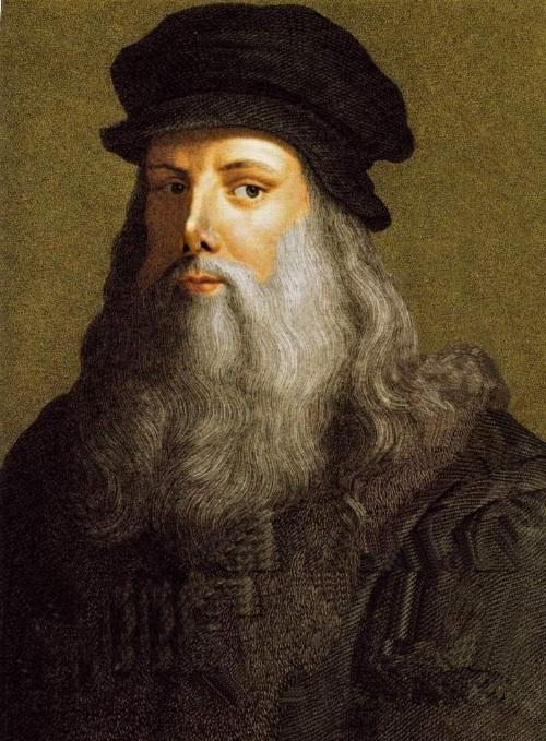 Leonardo Da Vinci Self Portrait Of Himself Self Portrait