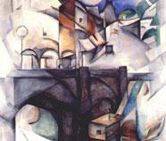Cubo-Futurisme Olieverfschilderij