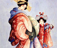 Japonism Oil paintings