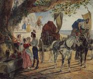 Oriëntalisme Olieverfschilderij