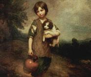 Rococo Olieverfschilderij