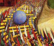 Sociaal Realisme Olieverfschilderij
