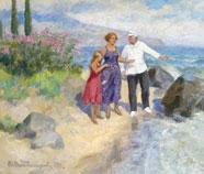 Socialistisch Realisme Olieverfschilderij