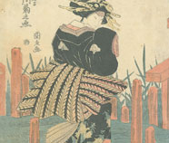 Ukiyo-e Olieverfschilderij