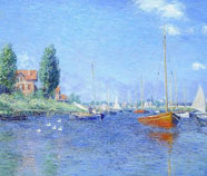 Harbor Scenes Oil Paintings