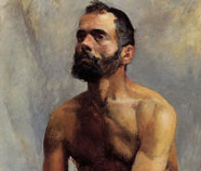 Men in Art Oil Paintings