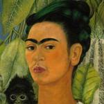 autoportrait avec un singe 1938
