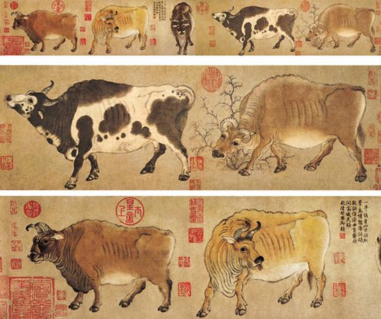 Five Oxen