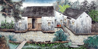 Village - Chinese Painting