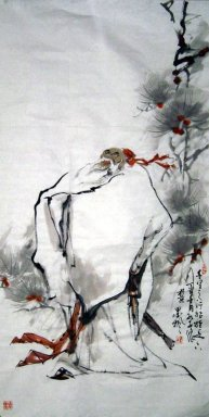 Confucius - Chinese painting