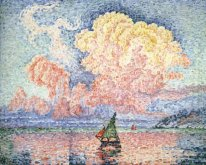 Antibes The Pink Cloud 1916