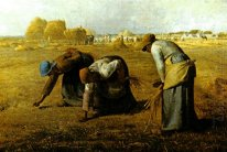 Os Gleaners 1857