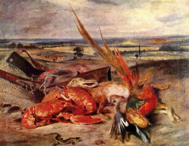 Still Life With Lobsters 1827