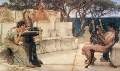 Sappho And Alcaeus 1881