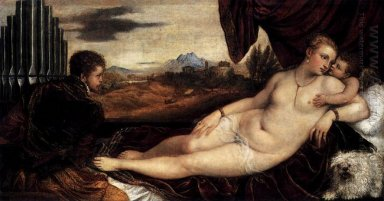 Venus with Organist and Cupid 1548
