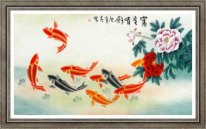 Fish-Wealth - Chinese Painting