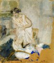 Study Of A Woman In A Petticoat 1903