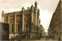 Jewish Temple In The City Leopold 1860