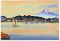 View of Fuji from Izumo