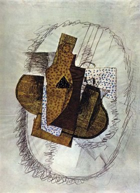 Still Life With Bottle Of Bass 1914