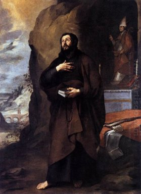 Saint Adelelmus Of Burgos 1655