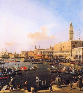 venice bacino di san marco on ascension day 1754