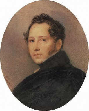 Portrait Of The Artist Sylvester Shchedrin