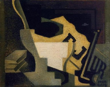 Still Life With Newspaper 1918