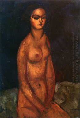 seated nude 1908