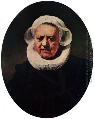 Portrait Of An Eighty-Three-Year-Old Woman