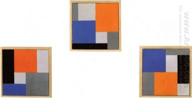 Composition Xviii In Three Parts 1920