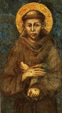 Saint Francis Of Assisi Detail