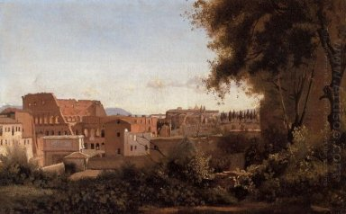 View Of The Colosseum From The Farnese Gardens 1826