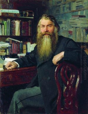 Portrait Of The Historian And Archaeologist Ivan Egorovich Zabel