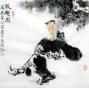 boy, cow-Chinese Painting