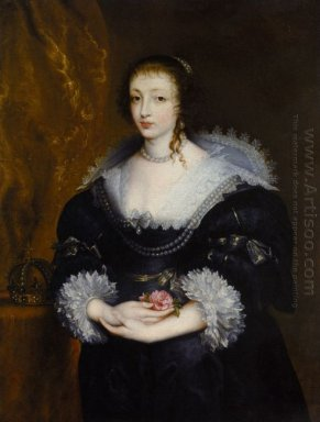 portrait of queen henrietta maria