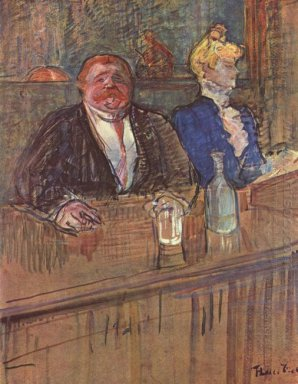 At The Cafe The Customer And The Anemic Cashier 1898