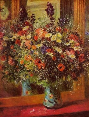 Bouquet In Front Of A Mirror 1877