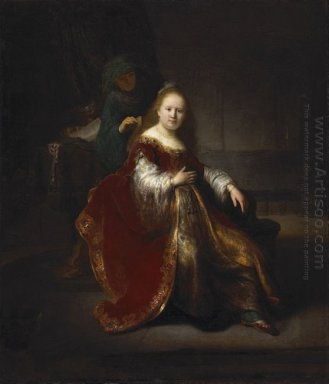 A Young Woman At Her Toilet 1633