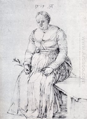 seated woman 1514