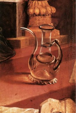 A Glass Jug Detail From The Concert Of Angels From The Isenheim