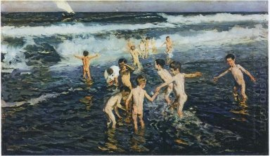 Sad Inheritance Study Beach Rascals 1908