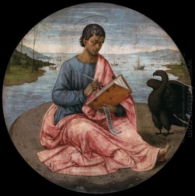 St John The Evangelist On The Island Of Patmos 1485