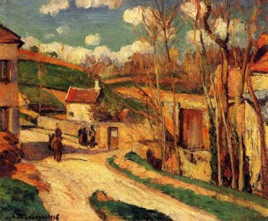 crossroads at l hermitage pontoise 1876