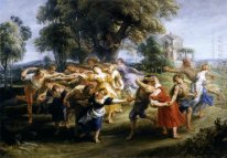 Dance of Villagers italiani c. 1636